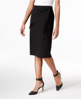 Calvin Klein Faux-Wrap Pencil Skirt, a Macy's Exclusive