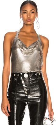 Fannie Schiavoni Crystal Top in Silver | FWRD