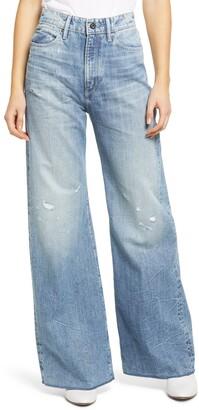 Deck Ultra High Waist Wide Leg Jeans