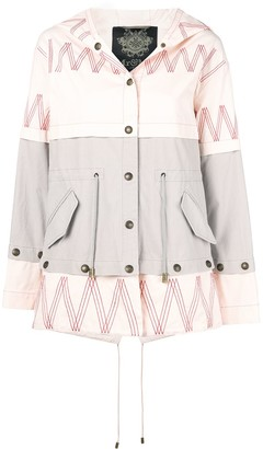 Mr & Mrs Italy Embroidered Mini Parka