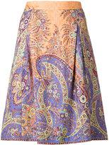 Etro floral print skirt - women - Silk/Viscose - 44