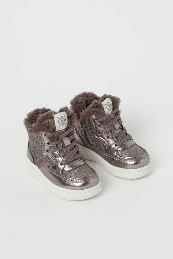 h & m girls shoes