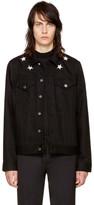 Givenchy Black Denim Stars Jacket