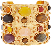 SYLVIA TOLEDANO Byzance medium gold-plated cuff