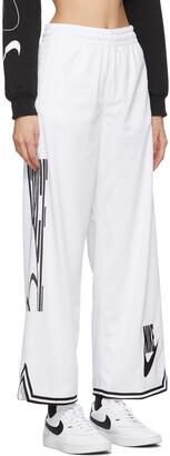 Nike White Jersey Sportswear Lounge Pants