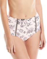 Seafolly Love Bird High-Waist Swim Bikini Bottom