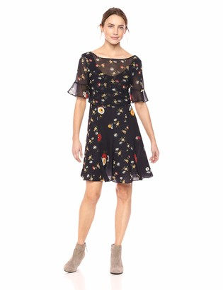 French Connection Women's Polly Printed Dresses