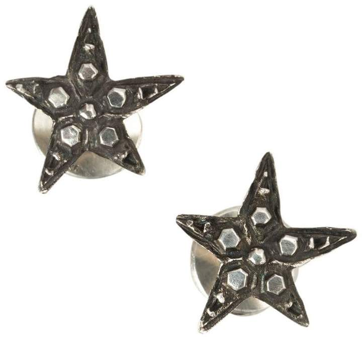 Werkstatt:Munchen embellished stars earrings