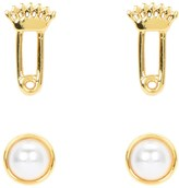 Juicy Couture Charm Pin Stud Earring Set
