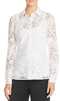 St. Emile Amy Sheer Lace Shirt