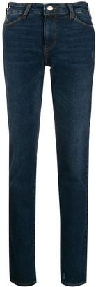 Emporio Armani low-rise skinny jeans