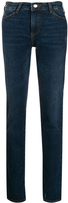 Emporio Armani Low-Rise Skinny Jeans