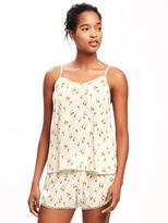 Old Navy Crinkle-Gauze Sleep Cami for Women