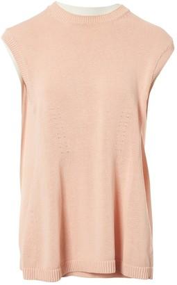 Balenciaga Pink Cotton Knitwear for Women
