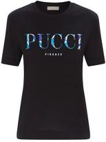 Emilio Pucci Cotton Logo T-Shirt