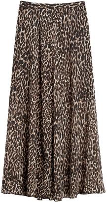 Banana Republic Maxi Skirt with Side Slits
