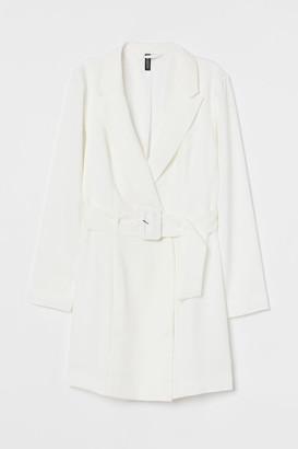 H&M Jacket Dress - White