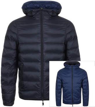 Giorgio Armani Emporio Reversible Down Jacket Black