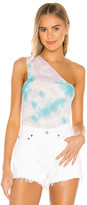 Michael Lauren Atwood One Shoulder Tank