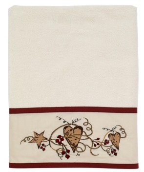 Avanti Hearts and Stars Bath Towel Bedding