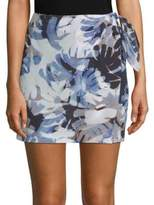 Robert Graham Sukie Printed Silk Skort