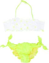 Mc2 Saint Barth Kids - ruffled bikini - kids - Spandex/Elastane/Polyimide - 14 yrs