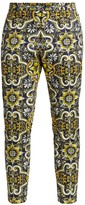 Dolce & Gabbana Printed Single Pleat Pants