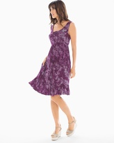 Soma Intimates Ruffle Hem Short Dress