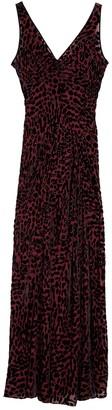 Diane von Furstenberg Clemine Leopard Print Maxi Dress