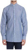 Finamore Striped Cotton Shirt N 840195 03