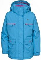 Trespass Childrens Girls Gracy Zip Up Waterproof Jacket