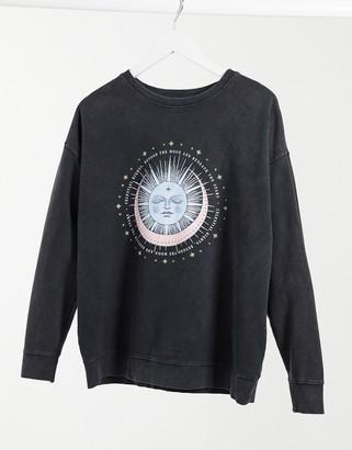 New Look mystic sweatshirt in navy