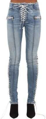 Unravel Skinny Cotton Blend Denim Jeans