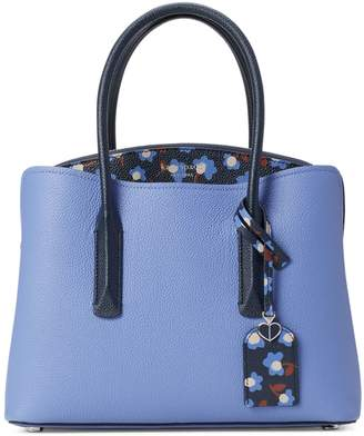 Kate Spade Medium Margaux Party Floral Leather Satchel