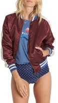 Billabong Women's Team Aloha Bomber Jacket