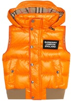 Burberry Lukas quilted down vest