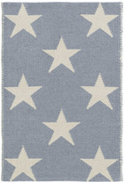 Dash & Albert Star Rug - Swedish Blue - 61 x 91 cm