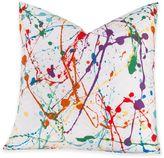 Crayola Splat 16-Inch Square Throw Pillow