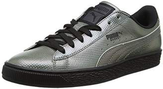 Puma Unisex Adults' Basket Classic Holographic Low-Top Sneakers, Black 01