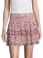Rebecca Minkoff Canyon Tiered Skirt
