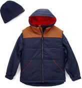 Hawke & Co Atlantic Blue Puffer Vest Set - Boys