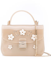 Furla embellished crossbody bag - women - Leather/PVC - One Size