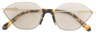 Karen Walker Game cat eye sunglasses