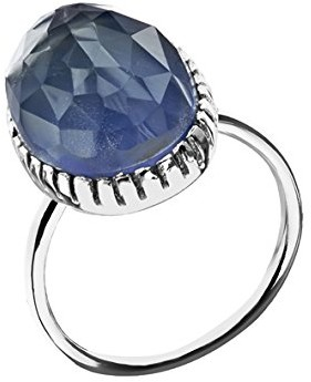 Canyon Women 925 Sterling Silver silver Chalcedony FINERING