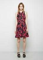 Proenza Schouler Printed A-Line Dress