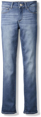 DL1961 Girls' Chloe Skinny Mid-Rise Faded Jeans, Size 7-16