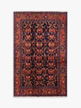 Gooch Oriental Hamadan Rug, Red, L206 x W134 cm
