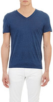 John Varvatos Men's Pintuck Jersey T-Shirt-Blue
