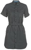 G Star ROVIC SHIRT DRESS WMN S/S Black