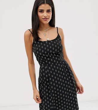 Vero Moda Tall square neck boho print cami dress-Multi
